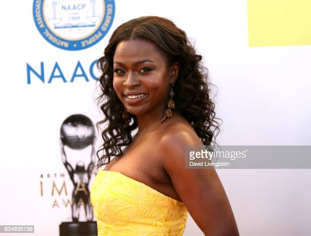 Actress Yetide Badaki attends the 48th NAACP Image Awards at Pasadena Civic Auditorium on February 11 2017 in Pasadena California