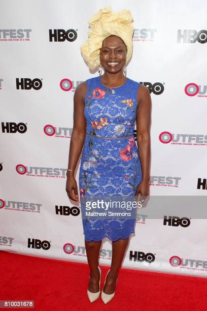 Actress Yetide Badaki attends the opening night gala of 'God's Own Country' at the 2017 Outfest Los Angeles LGBT Film Festival at Orpheum Theatre on...