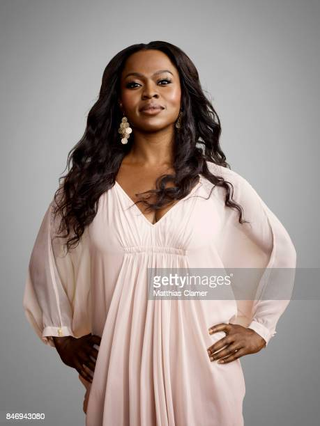 Actress Yetide Badaki from 'American Gods' is photographed for Entertainment Weekly Magazine on July 22 2016 at Comic Con in the Hard Rock Hotel in...