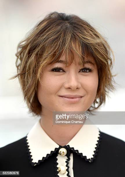 Actress Yoko Maki attends the 'After The Storm' photocall during the 69th Annual Cannes Film Festival at the Palais des Festivals on May 18 2016 in...