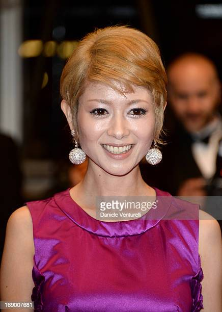 Actress Yoko Maki attends the Premiere of 'Soshite Chichi Ni Naru' at Palais des Festivals during The 66th Annual Cannes Film Festival on May 18 2013...
