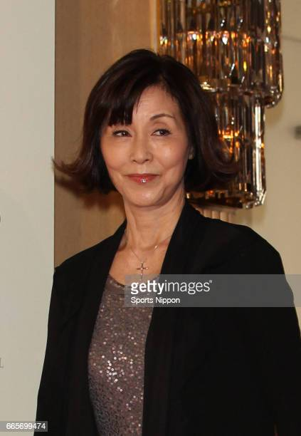 Actress Yoko Nogiwa attends the 8th Fountain Pen Best Coordinate Awards Ceremony on November 8 2011 in Tokyo Japan
