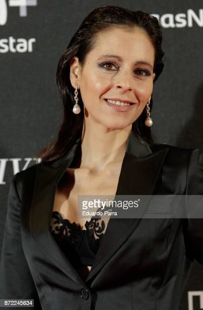 Actress Yolanda Font attends the 'Una razon para vivir' premiere on November 9 2017 in Madrid Spain