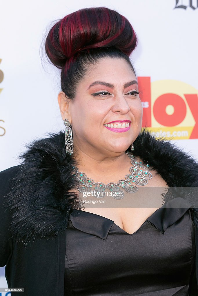 Actress Yolanda Gonzalez arrives at the 2013 Latinos De Hoy Awards at Los Angeles Times Chandler Auditorium on October 12, 2013 in Los Angeles, California.