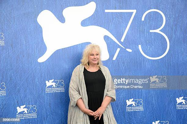 Actress Yolande Moreau attends a photocall for 'A Women's Life' during the 73rd Venice Film Festival at on September 6 2016 in Venice Italy