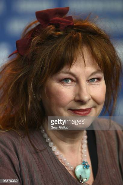 Actress Yolande Moreau attends the 'Mammuth' Press Conference during day nine of the 60th Berlin International Film Festival at the Grand Hyatt Hotel...