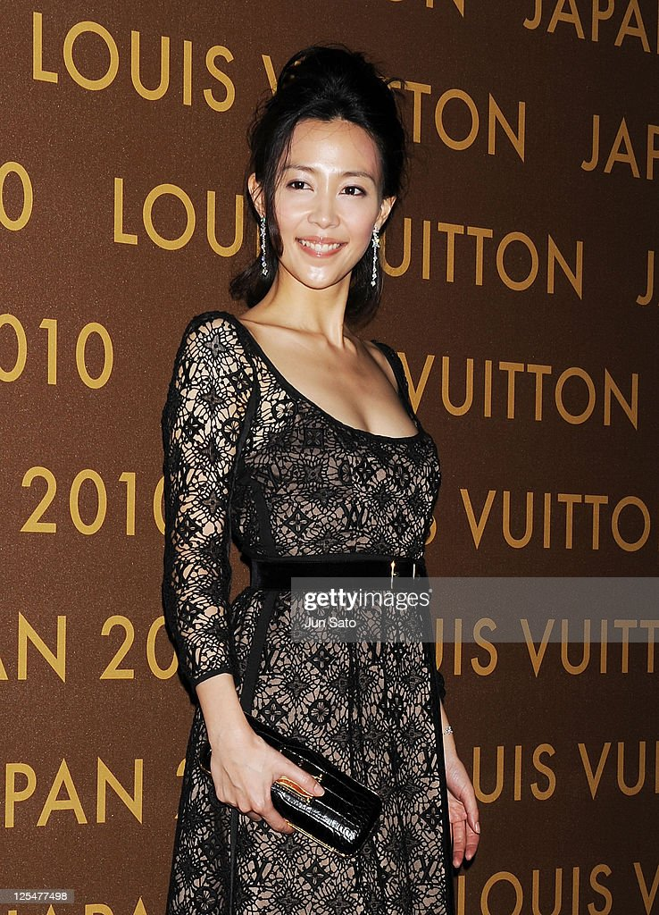 Celebrities Attend Louis Vuitton Event In Tokyo