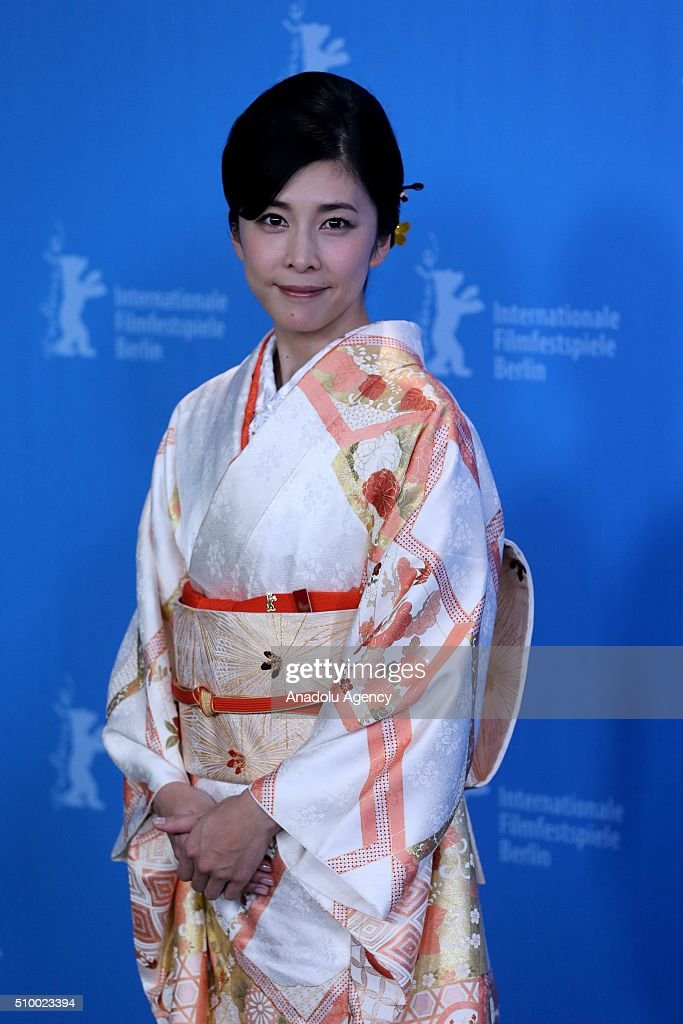 Actress Yuko Takeuchi attends the 'Creepy' photo call during the 66th Berlinale International Film Festival Berlin at Grand Hyatt Hotel on February 13, 2016 in Berlin, Germany.