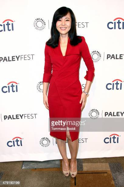 Actress Yunjin Kim attends the 2014 PaleyFest 'Lost' 10th anniversary reunion held at the Dolby Theatre on March 16 2014 in Hollywood California
