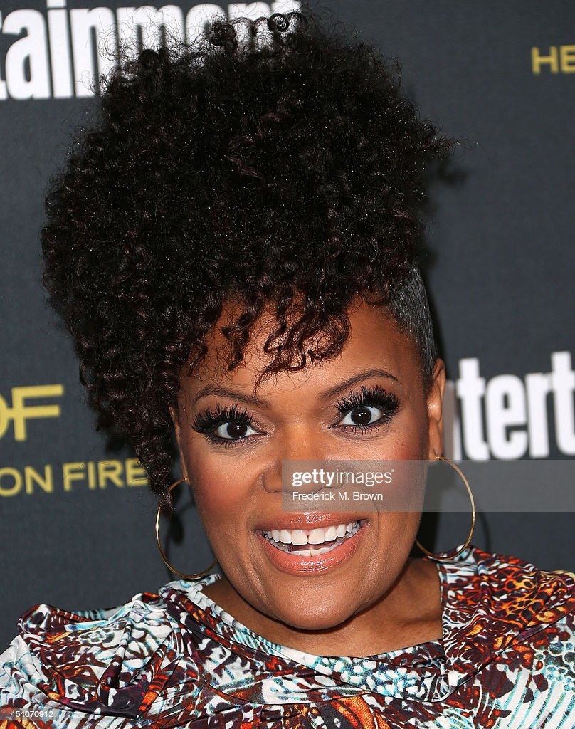 Actress Yvette Nicole Brown attends Entertainment Weekly's Pre Emmy Party at the Fig & Olive Melrose Place on August 23, 2014 in West Hollywood, California.