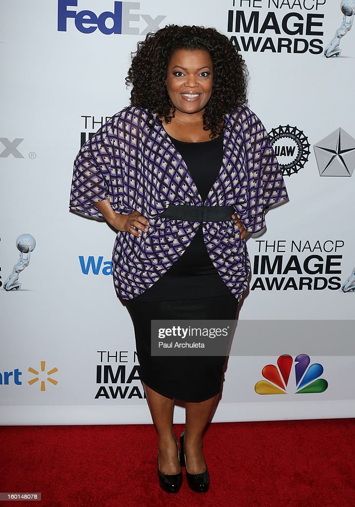 Actress Yvette Nicole Brown attends the 44th NAACP Image Awards nominee's luncheon on January 26, 2013 in Beverly Hills, California.
