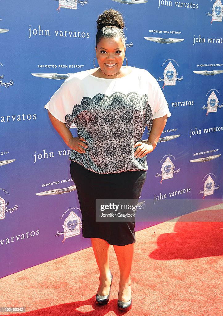 Actress Yvette Nicole Brown attends the John Varvatos 10th Annual Stuart House Benefit held at John Varvatos Los Angeles store on March 10, 2013 in Los Angeles, California.