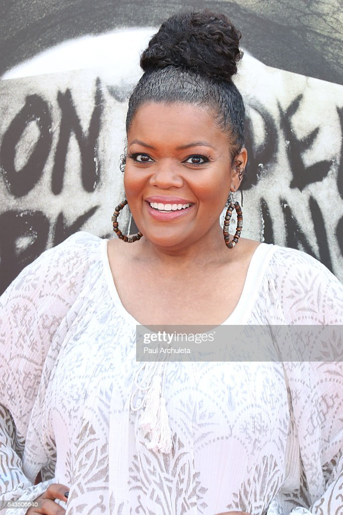 Actress Yvette Nicole Brown attends the press event for 'The Walking Dead' attraction 'Don't Open, Dead Inside' at Universal Studios Hollywood on June 28, 2016 in Universal City, California.