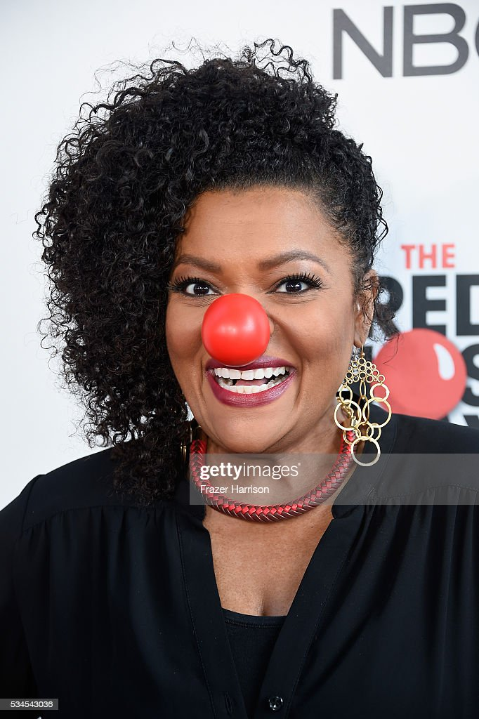 Actress Yvette Nicole Brown attends The Red Nose Day Special on NBC at Alfred Hitchcock Theater at Universal Studios on May 26, 2016 in Universal City, California.