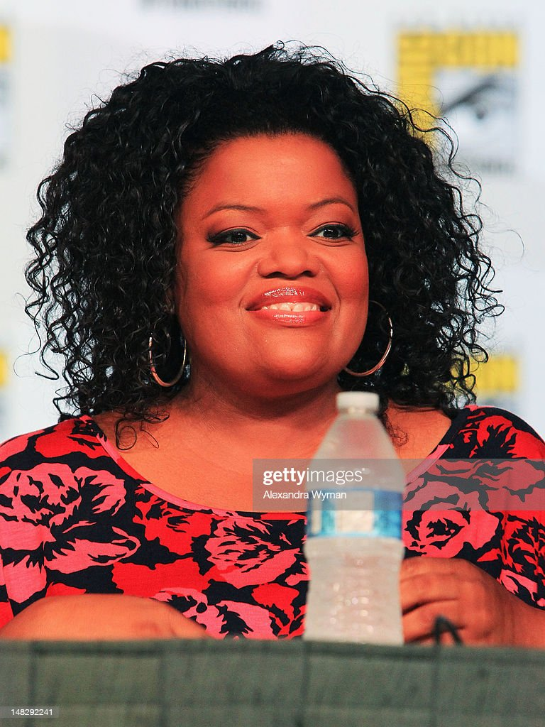 Actress Yvette Nicole Brown speaks at 'Community' School is Back in Session Panel during Comic-Con International 2012 at San Diego Convention Center on July 13, 2012 in San Diego, California.