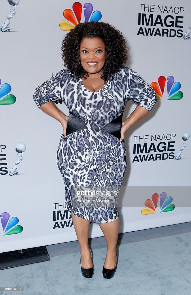 Actress Yvette Nicole-Brown attends the 44th NAACP Image Awards Nominations Announcement Press Conference at The Paley Center for Media on December 11, 2012 in Beverly Hills, California.