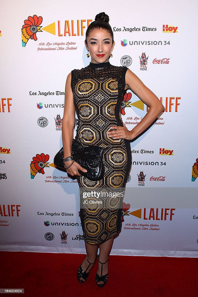 Actress <a gi-track='captionPersonalityLinkClicked' href=/galleries/search?phrase=Yvette+Yates&family=editorial&specificpeople=647906 ng-click='$event.stopPropagation()'>Yvette Yates</a> attends The 2013 Los Angeles Latino International Film Festival - Opening Night Gala Premiere of 'Pablo' at the El Capitan Theatre on October 10, 2013 in Hollywood, California.