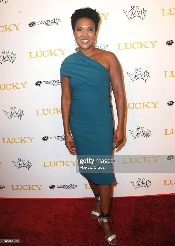 Actress Yvonne Huff Lee arrives for the Premiere Of Magnolia Pictures' 'Lucky' held at Linwood Dunn Theater on September 26, 2017 in Los Angeles, California.