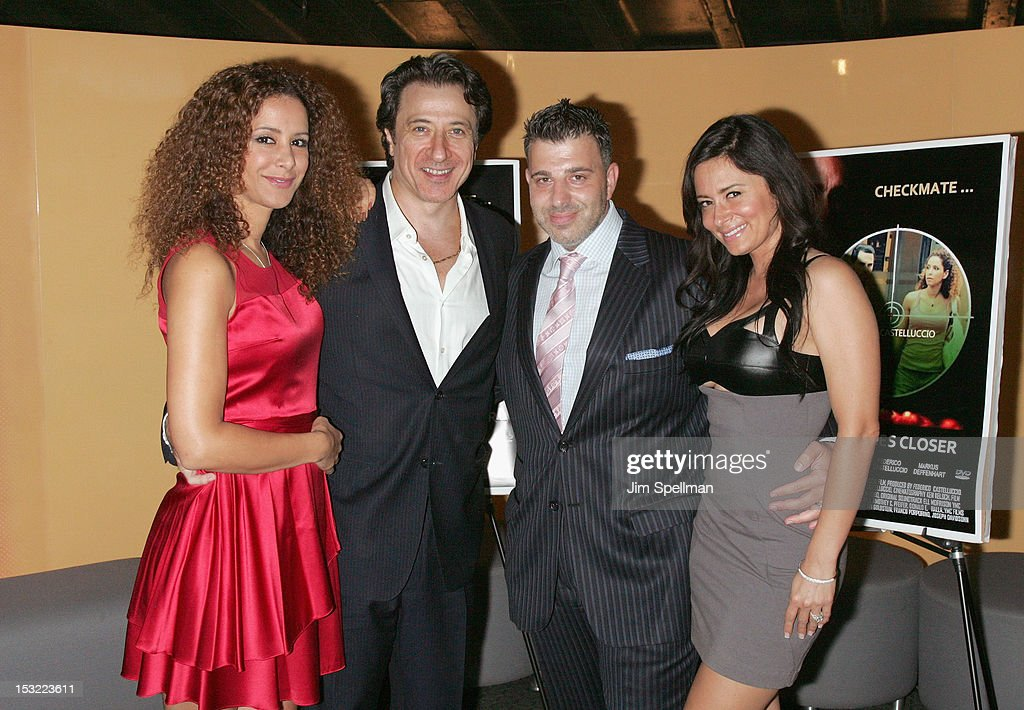 Actress Yvonne Maria Schaefer, actor/director Federico Castelluccio, executive producer Franco Porporino Jr and Erica Lancelotti attend the 'Keep Your Enemies Closer: Checkmate' screening at the School of Visual Arts Theater on October 1, 2012 in New York City.
