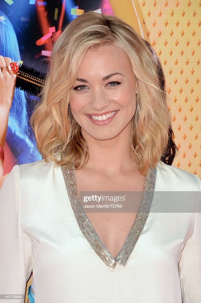 Actress Yvonne Strahovski arrives at the premiere of Paramount Insurge's 'Katy Perry: Part Of Me' held at Grauman's Chinese Theatre on June 26, 2012 in Hollywood, California.