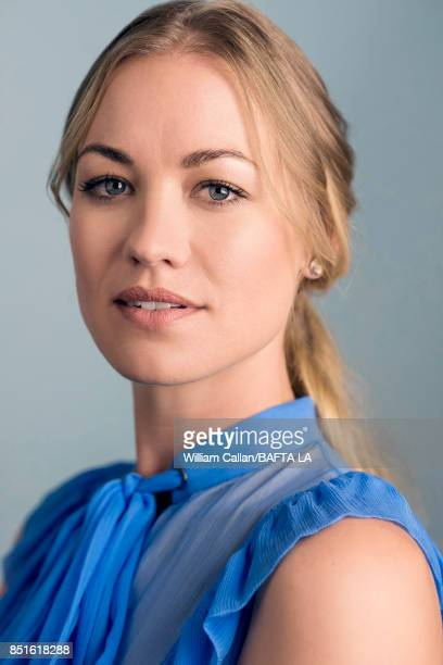 Actress Yvonne Strahovski from Hulu's 'The Handmaid's Tale' poses for a portrait BBC America BAFTA Los Angeles TV Tea Party 2017 at the The Beverly...