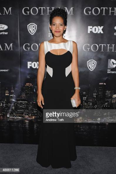 Actress Zabryna Guevara attends the 'Gotham' Series Premiere at The New York Public Library on September 15 2014 in New York City