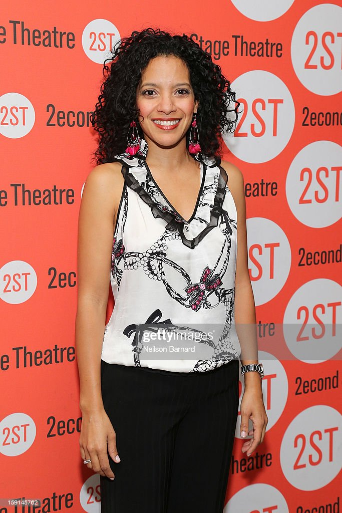Actress Zabryna Guevara attends the 'Water By The Spoonful' Opening Night Celebration at Dave & Buster's Time Square on January 8, 2013 in New York City.