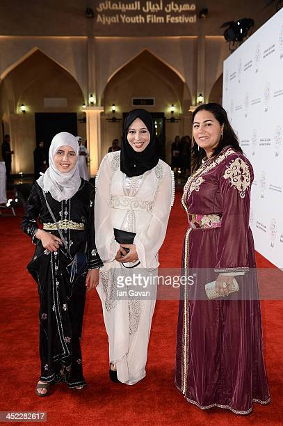 Actress Zahira Badi attends the 'On the Way to School' Premiere during day 2 of Ajyal Youth Film Festival on November 27 2013 in Doha Qatar