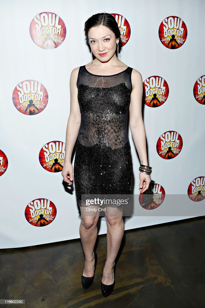 Actress Zarah Mahler attends the after party for the Broadway opening night of 'Soul Doctor' at the The Liberty Theatre on August 15, 2013 in New York City.