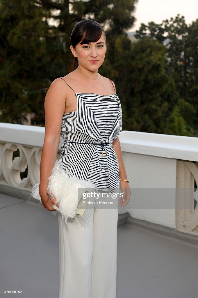 Actress Zelda Williams attends a dinner to celebrate Glamour's June Success Issue, hosted by Glamour Editor-in-Chief Cindi Leive & Maiyet Co-Founder Kristy Caylor at Chateau Marmont on May 29, 2015 in Los Angeles, California.
