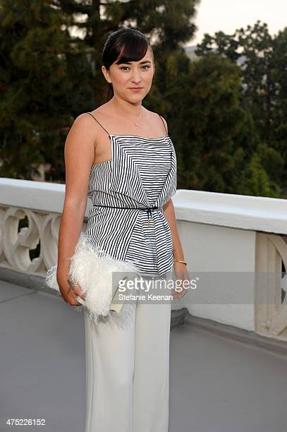 Actress Zelda Williams attends a dinner to celebrate Glamour's June Success Issue hosted by Glamour EditorinChief Cindi Leive Maiyet CoFounder Kristy...