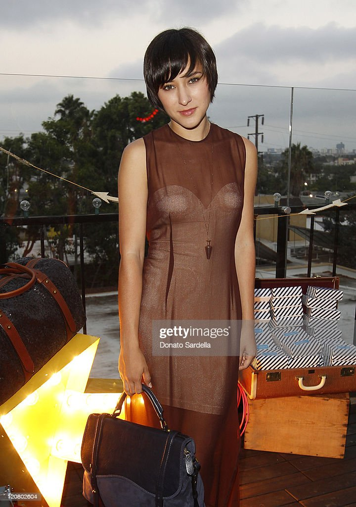 Actress Zelda Williams attends Actress Emma Roberts attends a Dinner Celebrating The Launch Of Westward by Emily Current and Meritt Elliott for kate...