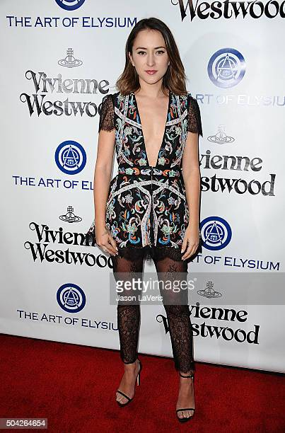 Actress Zelda Williams attends Art of Elysium's 9th annual Heaven Gala at 3LABS on January 9 2016 in Culver City California