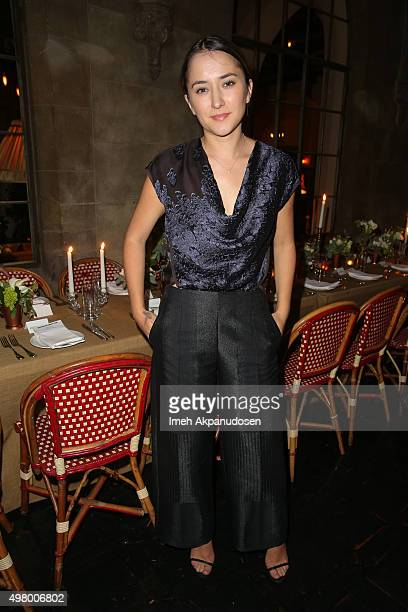 Actress Zelda Williams attends Maison de Mode's intimate dinner celebration of Maiyet with Absolut Elyx at Chateau Marmont on November 19 2015 in Los...