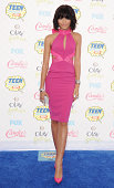 Actress Zendaya arrives at the 2014 Teen Choice Awards at The Shrine Auditorium on August 10 2014 in Los Angeles California