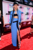 Actress Zendaya attends the BET AWARDS '14 at Nokia Theatre LA LIVE on June 29 2014 in Los Angeles California