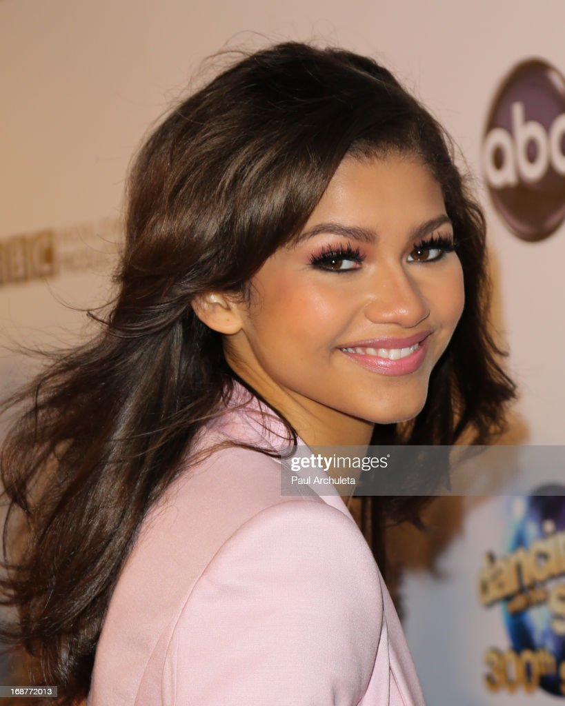 Actress Zendaya attends the 'Dancing With The Stars' 300th episode after party on May 14, 2013 in Los Angeles, California.