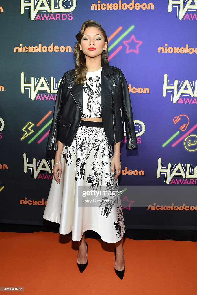 Actress Zendaya attends the Sixth Annual Nickelodeon HALO Awards in New York City The hourlong concert special will premiere Sunday Nov 30 at 7 pm...