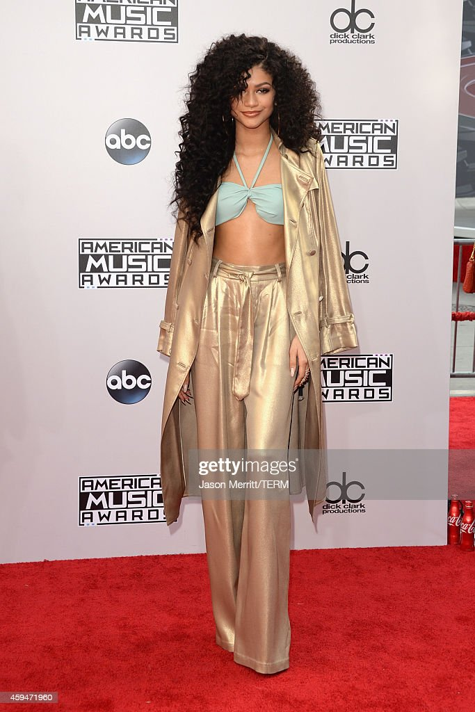 Actress Zendaya Coleman attends the 2014 American Music Awards at Nokia Theatre LA Live on November 23 2014 in Los Angeles California