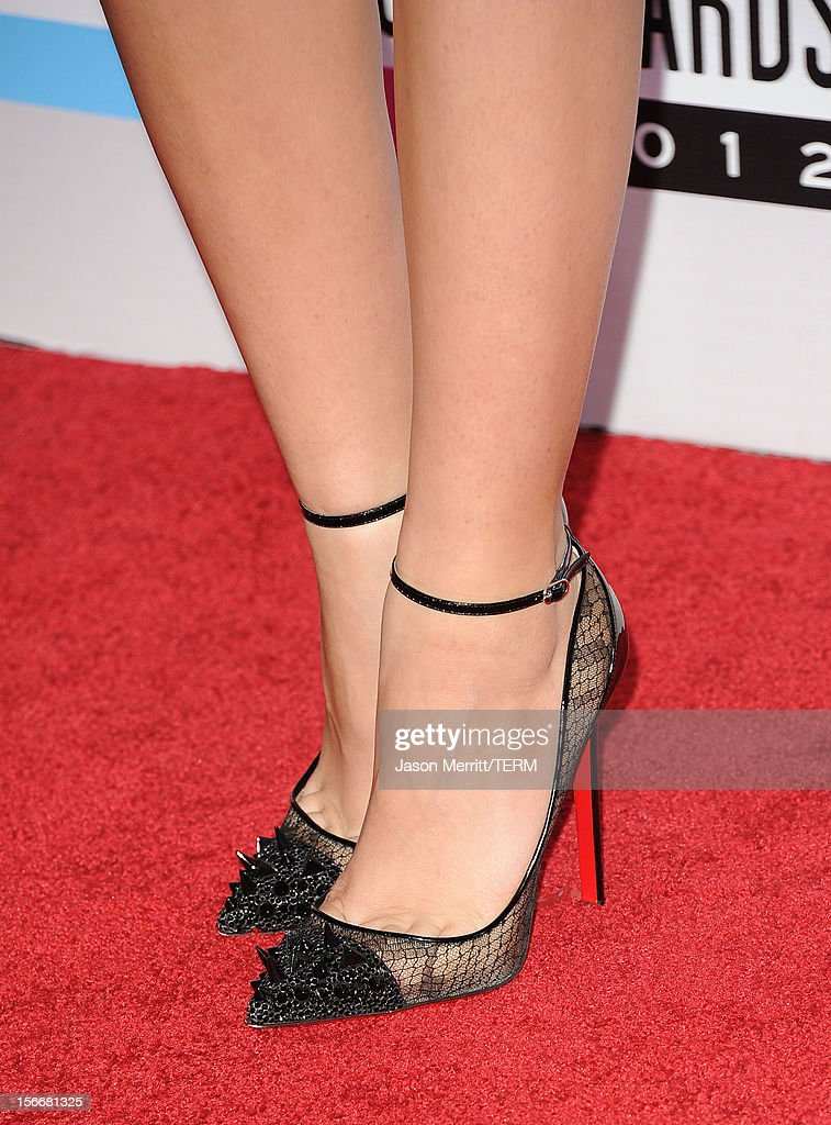Actress Zendaya Coleman (detail) attends the 40th American Music Awards held at Nokia Theatre L.A. Live on November 18, 2012 in Los Angeles, California.
