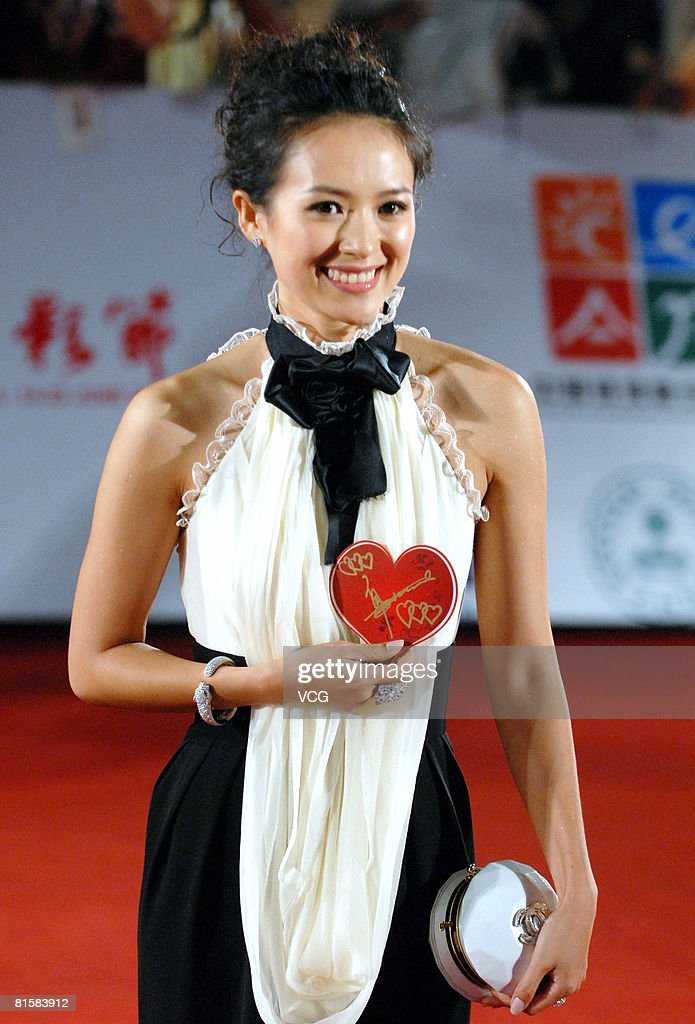 Actress Zhang Ziyi arrives at the opening ceremony of the 11th Shanghai Film Festival on June 14, 2008 in Shanghai, China.