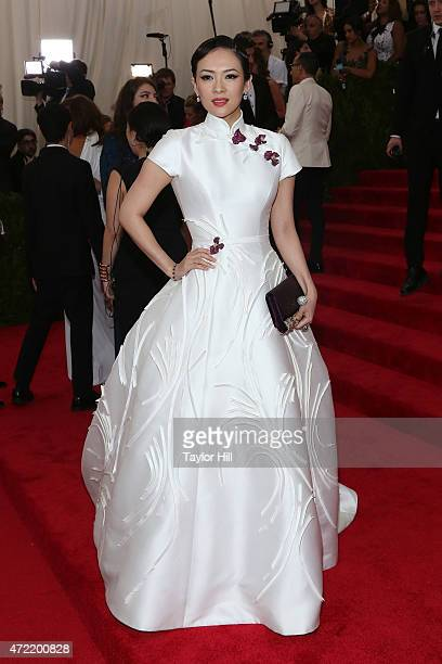 Actress Zhang Ziyi attends 'China Through the Looking Glass' the 2015 Costume Institute Gala at Metropolitan Museum of Art on May 4 2015 in New York...
