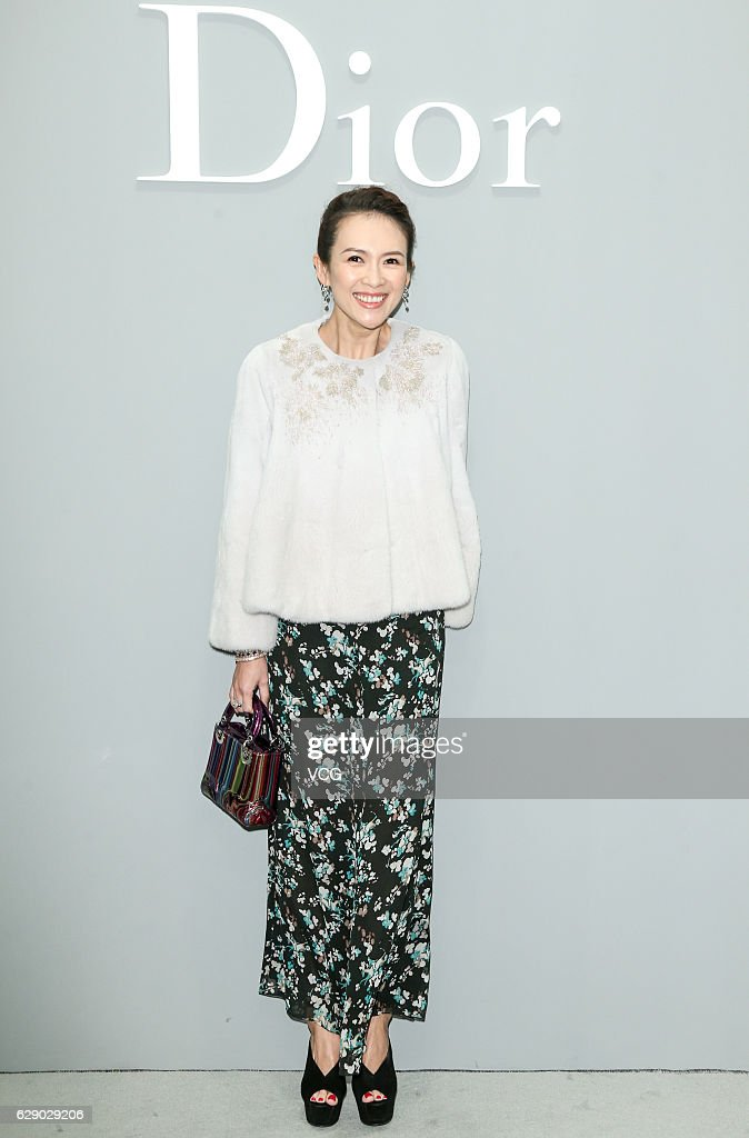Actress Zhang Ziyi attends Dior Lady Art event on December 10, 2016 in Beijing, China.