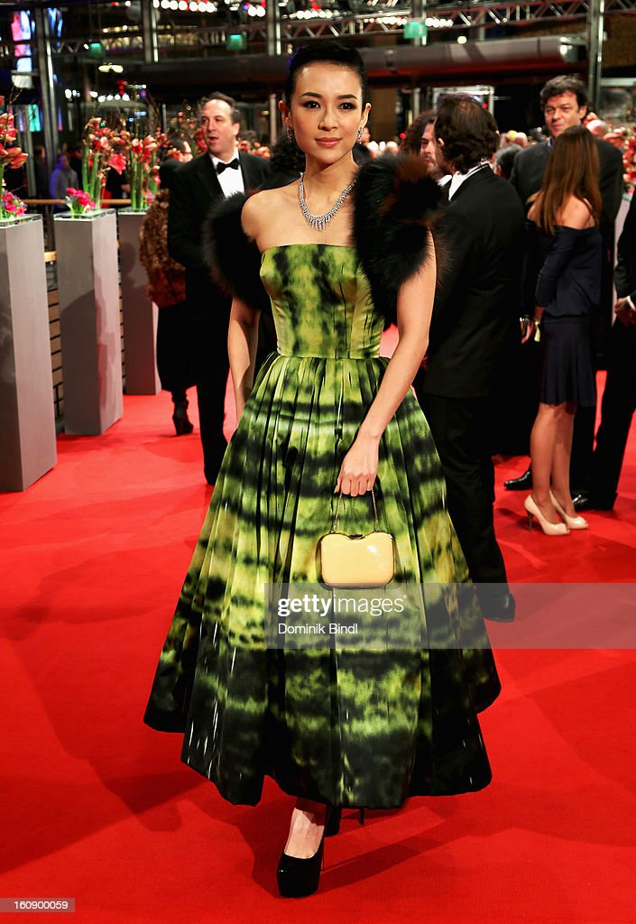 Actress Zhang Ziyi attends 'The Grandmaster' Premiere during the 63rd Berlinale International Film Festival at Berlinale Palast on February 7, 2013 in Berlin, Germany.