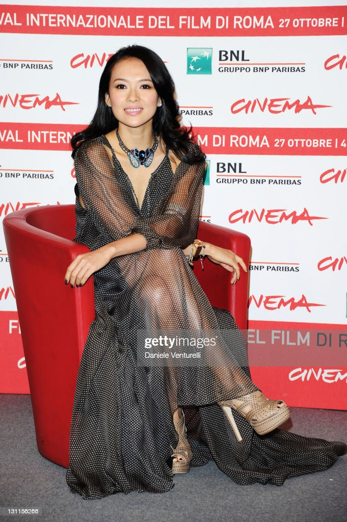 Actress Zhang Ziyi attends the 'Love For Life' Photocall during the 6th International Rome Film Festival at Auditorium Parco Della Musica on November 2, 2011 in Rome, Italy.