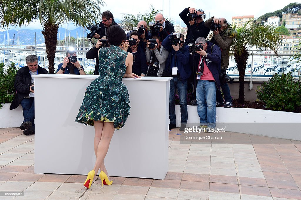 Actress <a gi-track='captionPersonalityLinkClicked' href=/galleries/search?phrase=Zhang+Ziyi&family=editorial&specificpeople=172013 ng-click='$event.stopPropagation()'>Zhang Ziyi</a> attends the photocall for the Jury for the 'Un Certain Regard' competition during The 66th Annual Cannes Film Festival at Palais des Festivals on May 16, 2013 in Cannes, France.