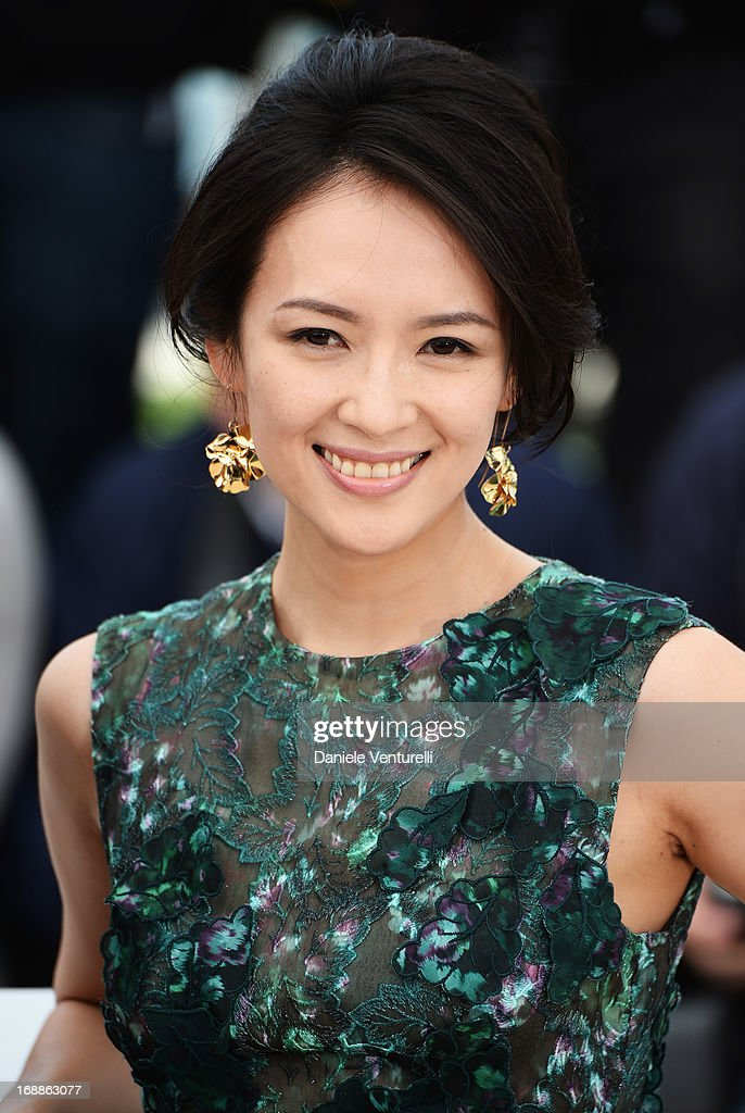 Actress Zhang Ziyi attends the photocall for the Jury for the 'Un Certain Regard' competition during The 66th Annual Cannes Film Festival at Palais des Festivals on May 16, 2013 in Cannes, France.