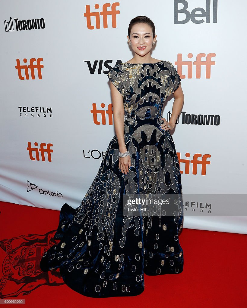 Actress Zhang Ziyi attends the world premiere of 'The Magnificent Seven' during the 2016 Toronto International Film Festival at Roy Thomson Hall on September 7, 2016 in Toronto, Canada.