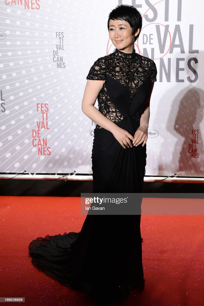 Actress Zhao Tao attends the Palme D'Or Winners dinner during The 66th Annual Cannes Film Festival at Agora on May 26, 2013 in Cannes, France.