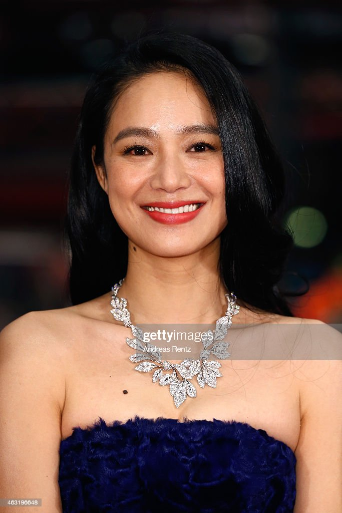 Actress Zhou Yun attends the 'Gone with the Bullets' (Yi bu zhi yao)premiere during the 65th Berlinale International Film Festival at Berlinale Palace on February 11, 2015 in Berlin, Germany.